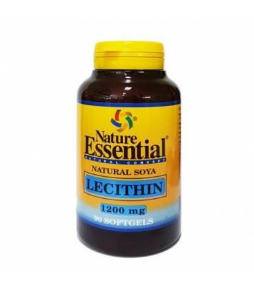 Lecitina de soja 1200 mg 90 perlas de Nature Essential
