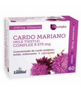 Cardo Mariano complex 1500 mg 60 cápsulas de Nature Essential