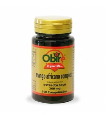 Mango africano complex extracto seco 200 mg 100 comprimidos de Obire