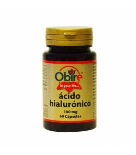 Ácido hialurónico 60 cápsulas de 100mg de Obire