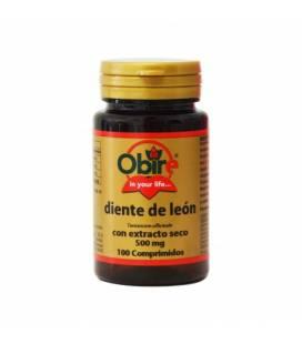 Diente de león extracto seco 100 comprimidos de 500mg de Obire
