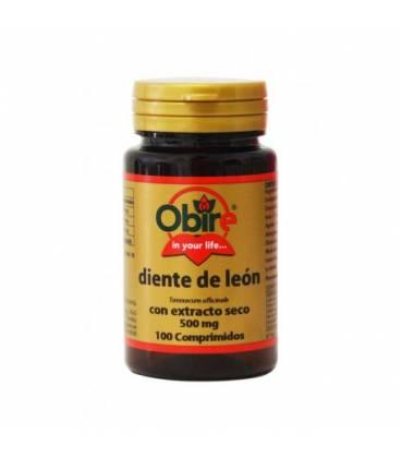 Diente de leon extracto seco 500 mg 100 comprimidos de Obire