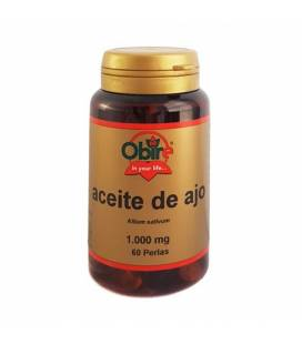 Aceite de ajo 1000 mg 60 perlas de Obire
