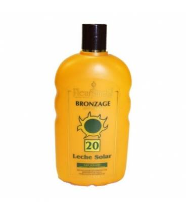 Leche solar corporal spf 20 250 ml de Fleurymer