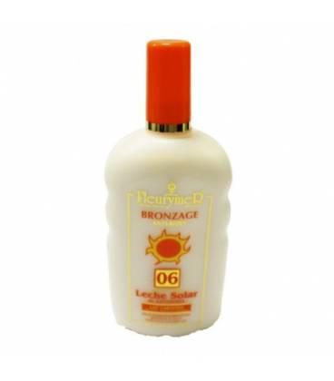 Leche solar zanahoria spf 6 250 ml de Fleurymer