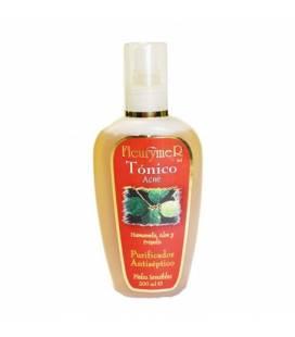 Loción tónico para el acné al hamamelis, Aloe y própolis 200ml de Fleurymer