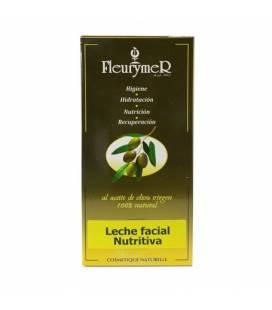 Leche facial hidratante al aceite oliva 50ml de Fleurymer