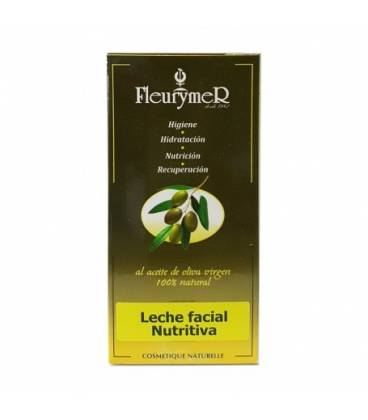 Leche facial nutritiva aceite oliva 50 ml de Fleurymer