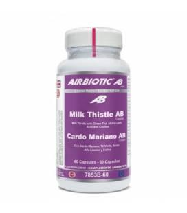 Cardo mariano complex 60 cápsulas de Airbiotic AB