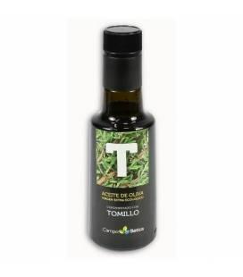 Aceite oliva virgen extra bio condimentado tomillo 250 ml de Biobetica