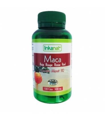 Maca roja 100 capsulas 500 mg de Inkanatura