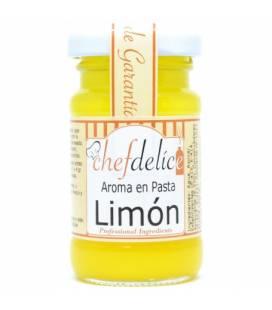 Aroma de limón en pasta emulsionada 50g de Chefdelice