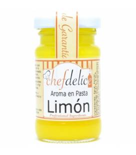 Limon aroma en pasta emul. 50 gr de Chefdelice