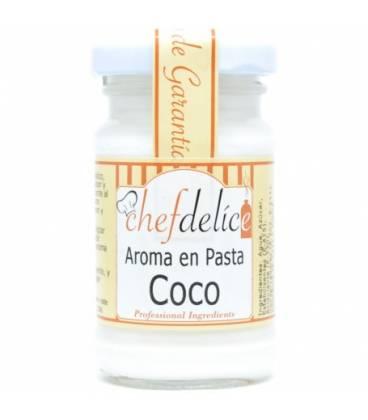 Coco aroma en pasta emul. 50 gr de Chefdelice