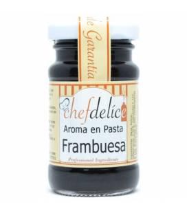 Aroma de frambuesa en pasta emulsionada 50g de Chefdelice