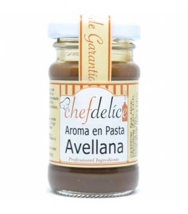 Avellana aroma en pasta emul. 50 gr de Chefdelice
