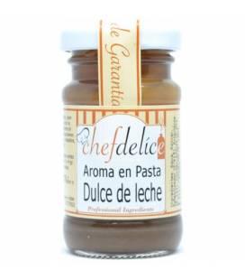 Dulce de leche aroma en pasta emul. 50 gr de Chefdelice