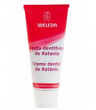 PASTA DENTIFRICA DE RATANIA 75ml Weleda