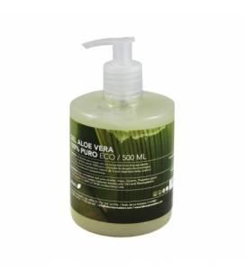 Gel Aloe vera eco 500ml con dosificador de Ebers