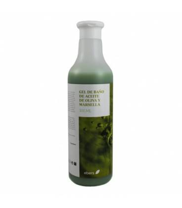 Gel baño oliva y marsella 500 ml de Ebers