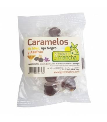 Caramelos miel ajo negro y azafran 100g de Green Mancha