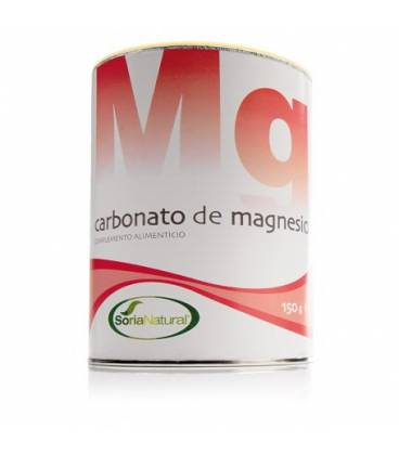 Carbonato de magnesio 150 g de Soria Natural
