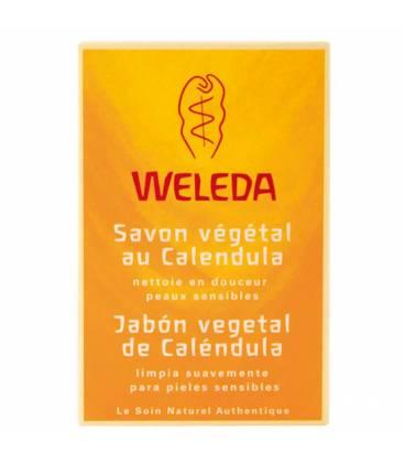 JABON VEGETAL DE CALENDULA 100g Weleda
