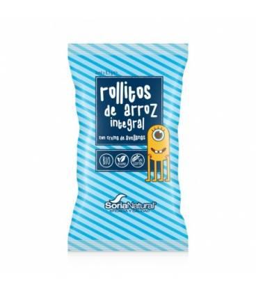 Snack rollitos de arroz cacao y avellana 3 unidades x 8,3 g de Soria Natural