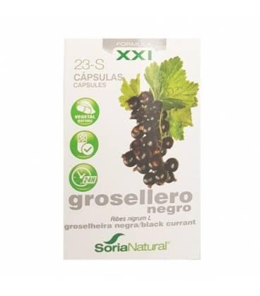 23-s Grosellero negro 30 cápsulas de Soria Natural