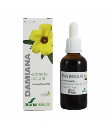 Extracto de damiana 50 ml de Soria Natural
