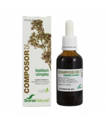 Composor 25 lepidium complex 50 ml de Soria Natural
