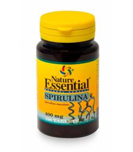 Espirulina 400 mg 100 comprimidos de Nature Essential