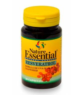 Resverastrol (semillas de uva) 50mg 50 capsulas de Nature Essential