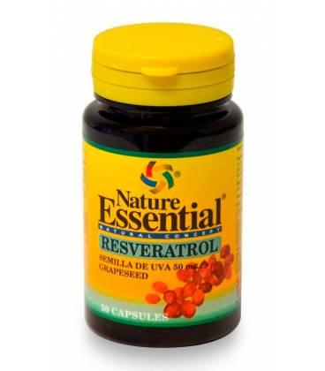 Resverastrol semillas de uva 50 mg 50 capsulas de Nature Essential