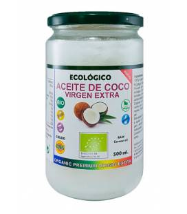 Aceite de coco virgen extra ecologico 500 ml de Robis