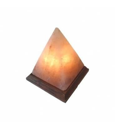 Lampara de sal pirámide de Inkanatura