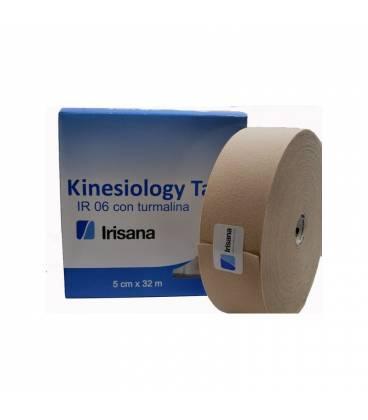 Kinesiology tape con turmalina IR06 5cmX32m beige de Irisana