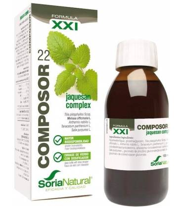 Composor 22 jaquesan complex 100ml de Soria Natural