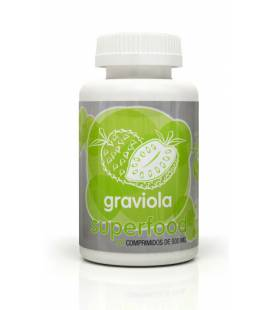 Graviola 120 comprimidos de 500mg de Energy Fruits