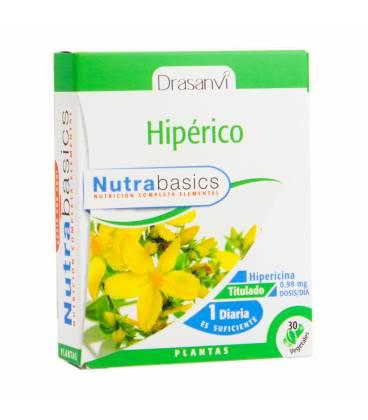 Hiperico 30 capsulas nutrabasic de Drasanvi