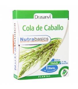 Cola de Caballo 30 cápsulas Nutrabasics de Drasanvi