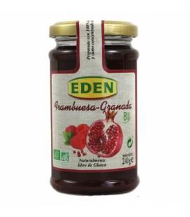 Mermelada de frambuesa y granada BIO 240g de Eden