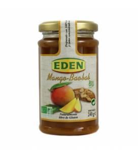 Mermelada de mango con Baobab BIO 240g de Eden