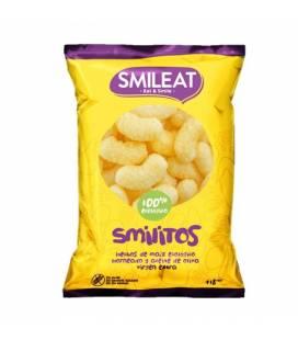 Smilitos snacks de maíz ecológicos de Smileat