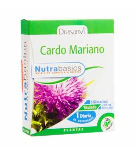 Cardo Mariano 30 cápsulas Nutrabasics de Drasanvi