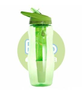 Botella filtradora Bbo verde tritan IR71 946 ml de Irisana