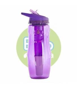Botella filtradora Bbo púrpura tritan IR71 946ml de Irisana