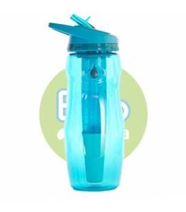 Botella filtradora Bbo azul tritan IR70 414ml de Irisana