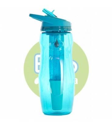 Botella bbo azul tritan IR70 414ml de Irisana