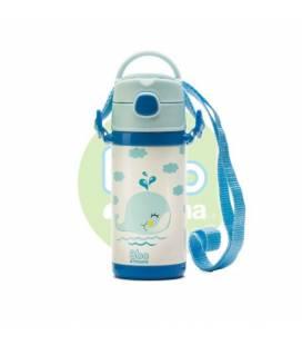 Botella Bbo azul termo infantil 320ml de Irisana